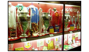 Anfield Liverpool Trophy Room